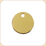 Flat Brass Circle