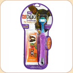 Triple Pet Triple-Head Toothbrush/Toothpaste Kit--Small Pet