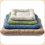 Rectangular Microsuede Cloud Bed--Color Array