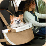 Car Booster Seat in Dura-Suede