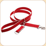 Eco-Friendly Leash--red & tan