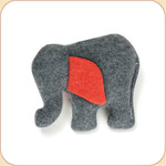 One Hemp Red-Eared Elephant--Mini