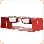 Size Small diner in Red--1 qt bowls
