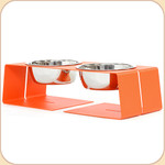 Size Small diner in Orange--1 qt bowls