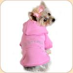 IRRESISTIBLE Cotton Hoodie--Pink
