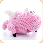 One Checked Flying Pig