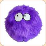 One Ball o' Purple Fur--2 sizes