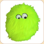 One Ball o' Lime Fur--2 sizes