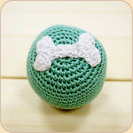 Crocheted Bone Ball