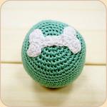 Crocheted Bone Ball