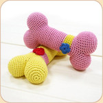 Crocheted Flower Bone