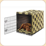 Luxury Microvelvet Crate Cover