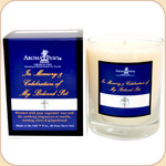 In Memory & Celebration Of--Remembrance Candle