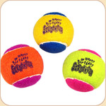 Happy Birthday Squeaker Tennis Balls--Trio