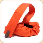 Canvas Messenger Bag in Orange