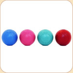 Good Dog Rubber Ball Toy--Assorted Colors