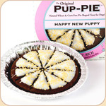 Boxed Happy New Puppy! Pup Pie