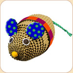 Kitty's Corrugated Crinkle Big Mouse