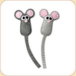Catnip Felt Mini Mouse Friends