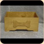 Wooden Toy Box--Bone