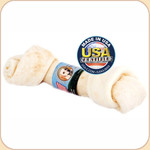 Wholesome Rawhide Flat Knot Bone--3 sizes