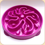Slow Bowl in 2 sizes--Fuchsia Flower