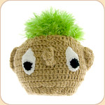Turfhead Toy with Squeaker--large