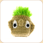 Turfhead Toy with Squeaker--medium