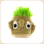 Turfhead Toy with Squeaker--medium