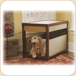 Wicker & Wooden Deluxe Pet Residence
