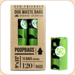 The Original PoopBags--8x Refill Rolls