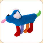 Charity Blue Pup