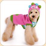 Pink Monster Hoodie Sweater