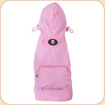 Hooded Raincoat in Pink--Pocket