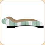 Luxury Scratch Chaise Longue--Stripes
