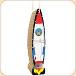 Luxury Scratch Hanging Rocket Ship