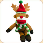 Reindeer Sock Monkey