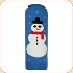 Snowman Sweater--on blue