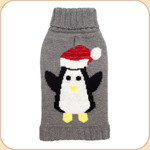 Metallic-Hatted Penguin--on gray