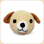 Crocheted Pup Ball