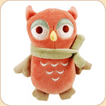 Red Owl in Scarf