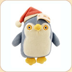 Blue Flat Penguin in Hat--small