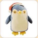 Blue Flat Penguin in Hat--large