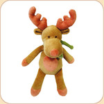 Holiday Little Moose in Scarf