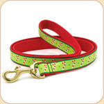 Holiday Candy Canes Leash