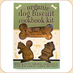 Cookie Cutters & Organic Dog Treat Recipe Kit