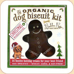 Cookie Cutter & Holiday Dog Treat Recipe Kit