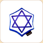 Kosher Star of David Hanukkah Toy