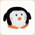 Crocheted Penguin Ball