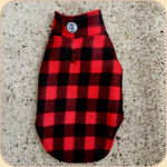 Reversible Fleece Coat--Buffalo Plaid